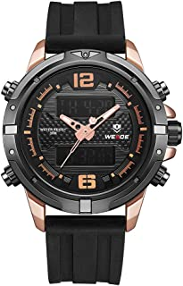 WH8602 Quartz Digital Electronic Watch Dual Time Calendar Week Alarm 3ATM Waterproof Timer Business Men Fashion Casual Outdoor Sports Male Wristwatch