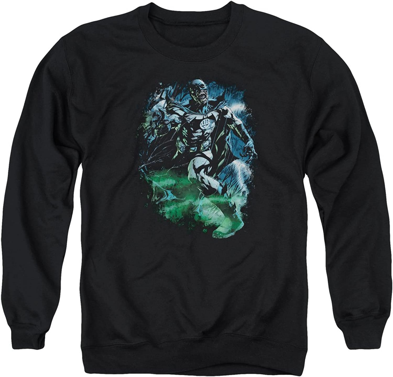 Green Lantern  Mens Black Lantern Batman Sweater