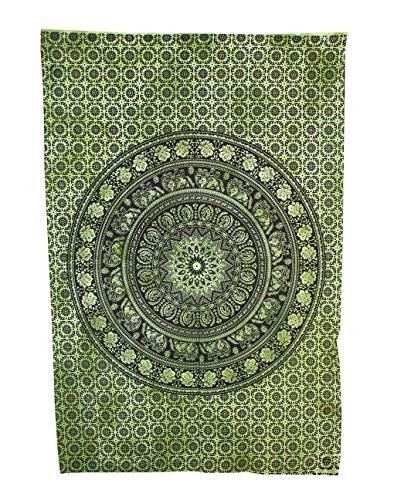 Marusthali Empire Interactive - Poster da Parete con Mandala, Arte psichedelica, Arte Indiana