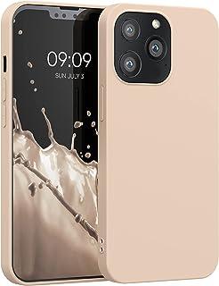 kwmobile telefoonhoesje compatibel met Apple iPhone 13 Pro - Hoesje voor smartphone - Back cover in parelmoer