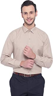 MANQ Men's Regular Fit Formal Shirt
