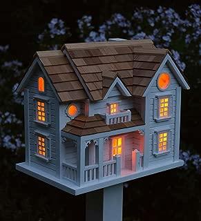 birdhouse with pole