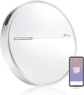 【+Style ORIGINAL】スマートロボット掃除機 B300 Wi-Fi接続 水拭き 薄型 6.2cm フローリング カーペット 対応 小型 日本メーカー製 Amazon Alexa/Google Home 対応