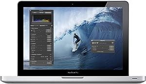 Apple MacBook Pro MD314LL/A Intel Core i7-2640M X2 2.8GHz 4GB 750GB, Silver (Certified Refurbished)