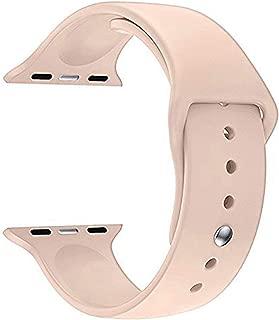 Microsonic 21259 Apple Watch Series 5 40mm Silikon Kordon Rose Gold