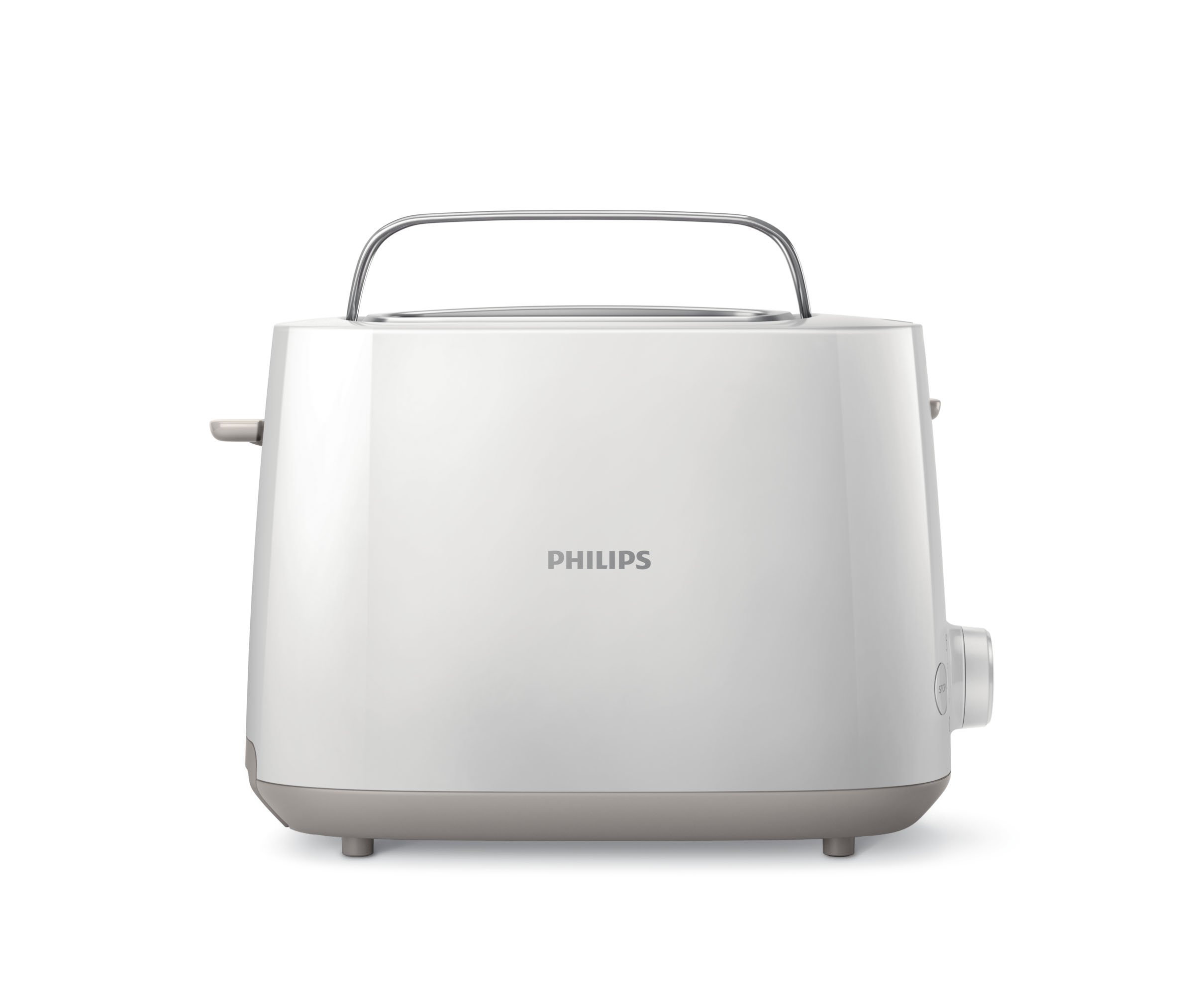 Philips Daily HD2581/00 -Tostador 830 W, Doble Ranura, Color Blanco: Philips: Amazon.es: Hogar