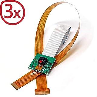 AZDelivery 3 x cámara con Cable de Cinta Flexible de 15cm para Raspberry Pi y Cable de Cinta Flexible de 30cm para Raspberry Pi Zero con eBook Gratis!