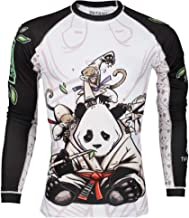 Jab Sales and Distro Jiu Jitsu No Gi Panda Rash Guard Tatami MMA Compression