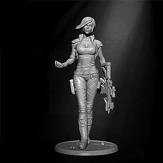 Risjc 1/35 Sci-fi tema modern kvinnlig agent harts modellkit omonterad och omålad soldat komponent — 93RJ19