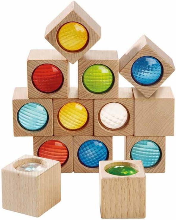 HABA Over item handling Kaleidoscopic Building Blocks - 13 Piece with Nippon regular agency Colored P Set