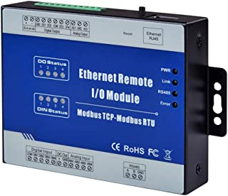 Ethernet Remote IO Module Modbus TCP Data Acquisition Module 2 Relay Output 2 Analog Input M100T (Dry Contact DI)