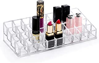 Sooyee 36 Space Lipstick Makeup Organizer,Cosmetic Storage Display Cases for Larger Base Lipsticks