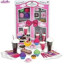 Sophia's Complete 27 PC Doll Accessory Food Set, 15 Sweet Treats & Spoons & Paper Napkins, 18