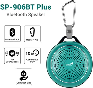Genius SP-906BT Plus Speaker for Mobile Phones - Fresh Green