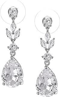 Best wedding earrings teardrop Reviews