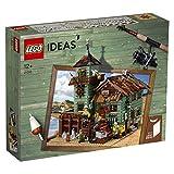 LEGO Ideas- Antigua Tienda de Pesca Set de construcción de Edificio pesquero con Minifiguras de Pescadores y muñecos de gaviotas, Recomendado a Partir de 12 años (21310)