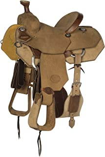 NRS Competitor Series Roughout Youth Roping Saddle