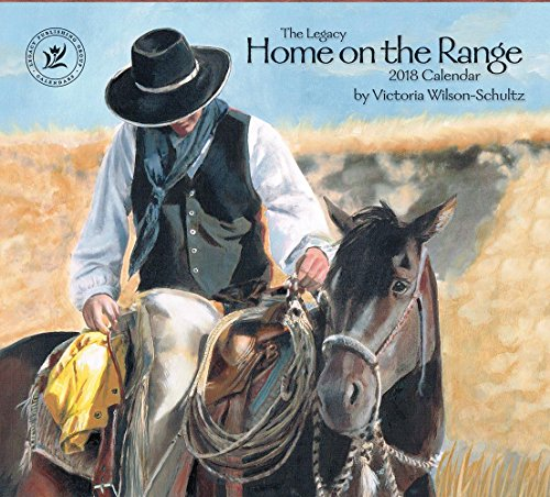 Legacy Publishing Group 2018 12-Month Wall Calendar, Home on The Range