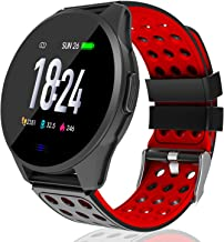 Kemier Smart Watch,Blood Pressure and Heart Rate Monitor,Fitness Tracker with Sleep Monitor,Running Activity Tracker,1.3 i...
