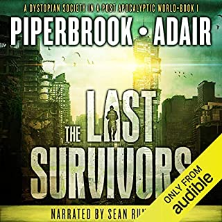 The Last Survivors audiobook cover art