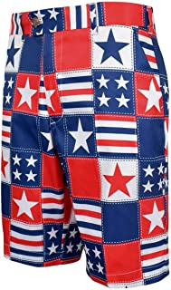 Loudmouth Golf- Betsy Ross StretchTech Shorts