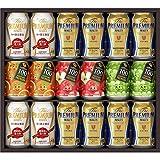 【お歳暮】 ザ・プレミアム・モルツ 冬の限定ファミリー ビール ギフト セット FA40P  350ml×12本, 290ml×6本  ギフトBox入り