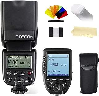 Godox Thinklite TT600S GN60 Built-In 2.4G Wireless X System Flash Speedlite+Godox XPro-S TTL 2.4G High-Speed Sync Wireless Flash Trigger Transmitter compatible for Sony Multi Interface MI Shoe Cameras