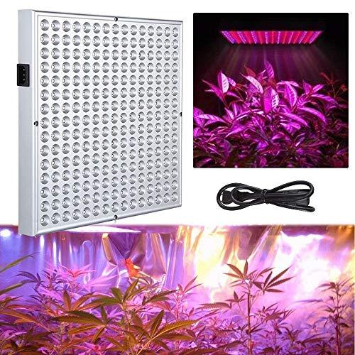 UISEBRT 45W Pflanzenlampe Pflanzenleuchte LED Vollspektrum - Grow Lampe Wachstumslampe 225 LEDs Rot&Blau für Zimmerpflanzen Blumen und Gemüse tageslicht (45W)