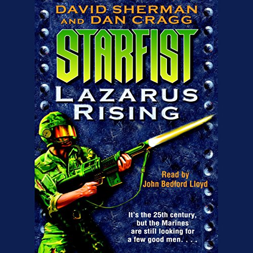 Lazarus Rising audiobook cover art