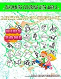 Dinosaurs Coloring Kids Ages 8: Ichthyosaurus, Spinosaurus, Therizinosaurus, Guanlong, Dinosaurs, Corythosaurus, Corythosaurus, Corythosaurus For ... Words Activity And Coloring Books 35 Image