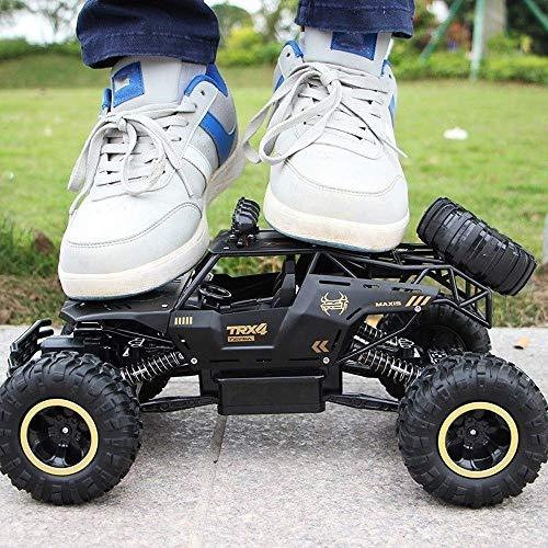 AIOJY 2020 Neue Monster-Truck-Legierung Geländewagen Hight Geschwindigkeit RC Autos 1/12 4WD Rc Autos for Jungen-Mädchen-Kind Erwachsene LKW 2.4G Fernsteuerungsauto- Crawler