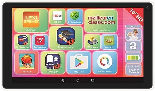 edición limitada en caliente LEXIBOOK LEXIBOOK LEXIBOOK LexiTab Indigo-tablette Niño con Aplicaciones éducatives, Juegos y Controles parentaux-Android, Wi-Fi, azultooth, Google Play, Youtube, mfc10fr, blanco Malva  Ven a elegir tu propio estilo deportivo.