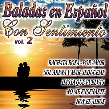 Baladas En Español  Vol.2