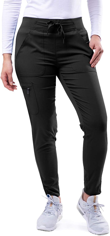 Adar Pro Scrubs for Max 62% OFF Women - Jogger Ultimate Pants OFFer Yoga Scrub