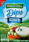 Hidden Valley Dips Mix Original Ranch Pack mit 4 Tüten