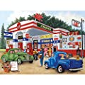 Bits and Pieces - 500 Piece Jigsaw Puzzle for Adults - Frank's Friendly Service - 500 pc Americana Summer Jigsaw by Artist Kay Lamb Shannon by Melville Direct