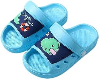 Sabots Mules Enfant Mignon Pantoufle Maison Antidérapant Sandales de Piscine Plage Été Souple Chaussures d'Eau