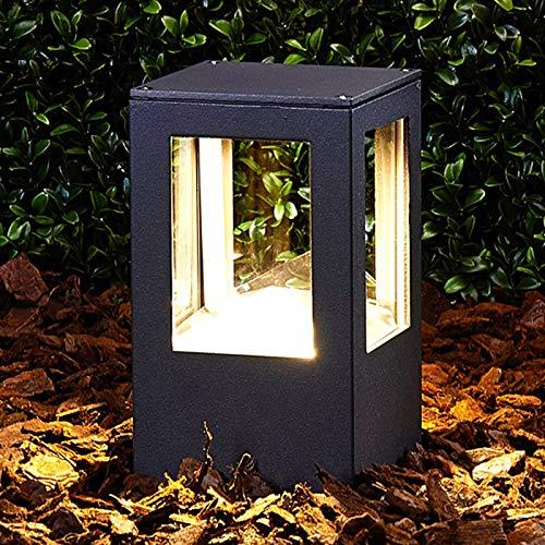 LED Lámpara para exterior 'Nicola' (Moderno) en Negro hecho