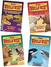 Who Would Win? Pack (4 Books) (Polar Bear Vs. Grizzly Bear; Killer Whale Vs. Great White Shark; Lion Vs. Tiger; Tyrannosaurus Rex Vs. Velociraptor)