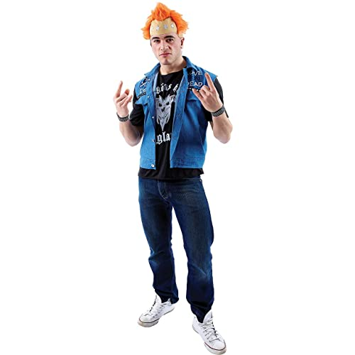 16e3e4daf515 Orion Costumes Mens Vyvyan Basterd The Young Ones Fancy Dress