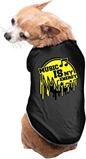 Vgd Music Is My Energy Logo Fashion Dog Clothes