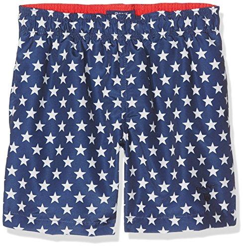 Gant Star Swim Shorts, Bleu (Navy), Large Garçon