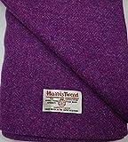 Harris Tweed Stoff, 100 % reine Wolle, mit Etiketten,