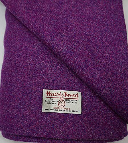 Harris Tweed Stoff, 100 % reine Wolle, mit Etiketten, verschiedene Größen – Ref. ap810 – Sehen...