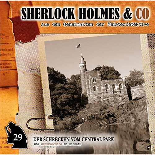 Der Schrecken vom Central Park audiobook cover art