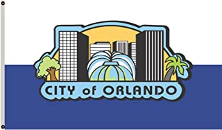 Fyon Florida Banner City of Orlando Flag 3x5ft