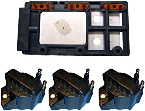 Ignition Control Module + (3) High Performance Ignition Coils for Chevy GMC 3.8L D555 LX364