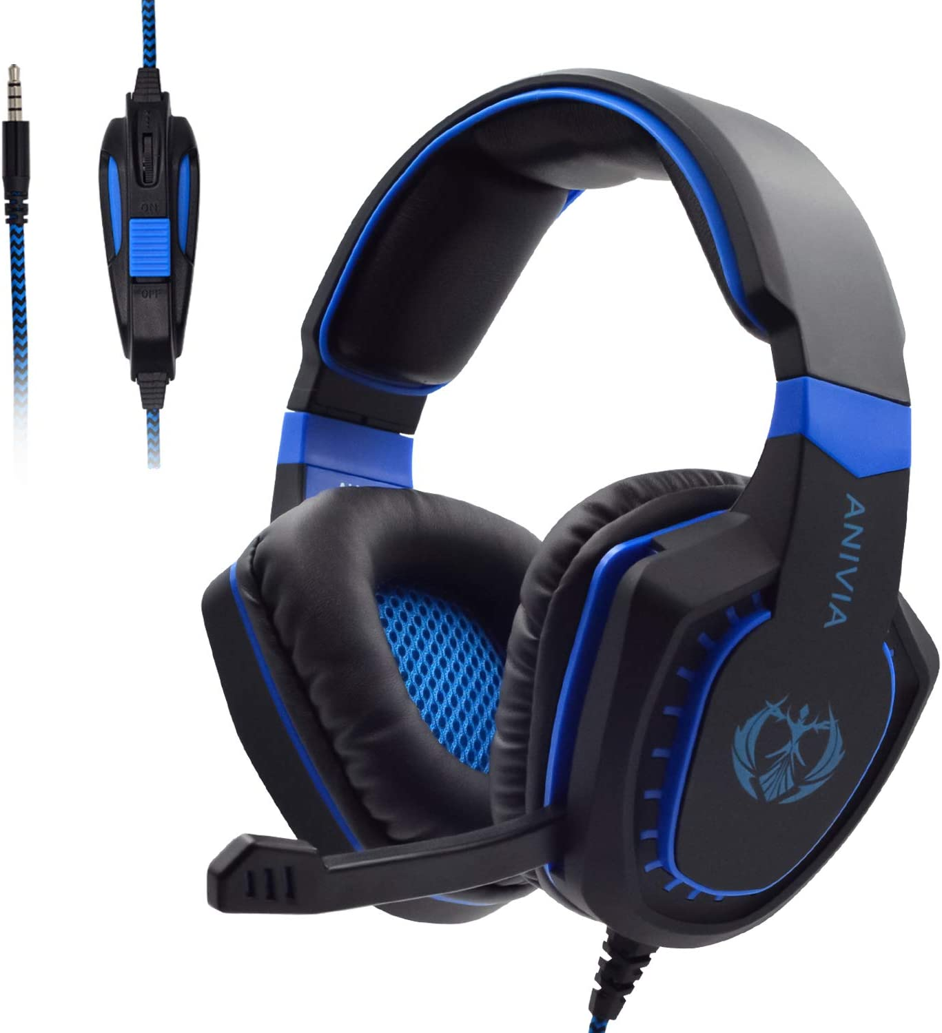 Gaming Headset Financial sales sale with Microphone Compatible PC P Xbox One Popular PS4