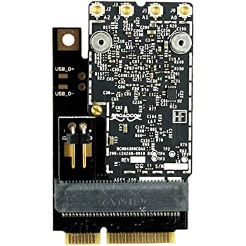 OSXWiFi Compatible with MacPro 2008 (3,1), 2007 (2,1), 2006 (1,1) - Handoff and Continuity - Broadcom BCM94360CD - 802.11 A/B/G/N/AC with Bluetooth 4.0 OS X Yosemite 10.10+