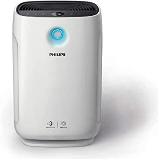 Philips AC2887/20 High Efficiency Air purifier, removes 99.97% airborne pollutants with numerical PM2.5 display, ideal for master bedroom
